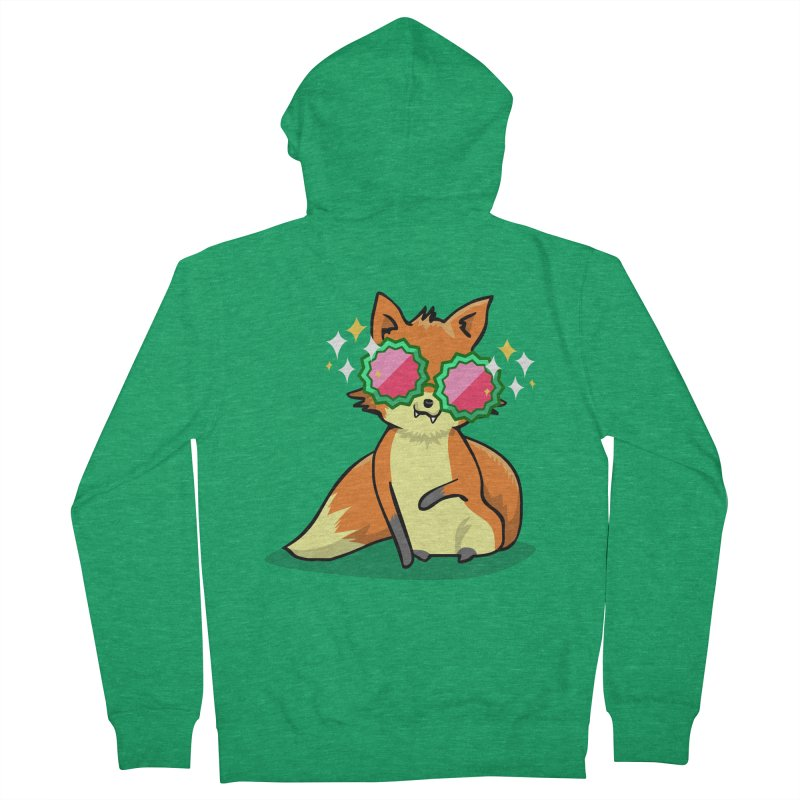 Foxy & Fabulous  Men's French Terry Zip-Up Hoody by anishacreations's Artist Shop