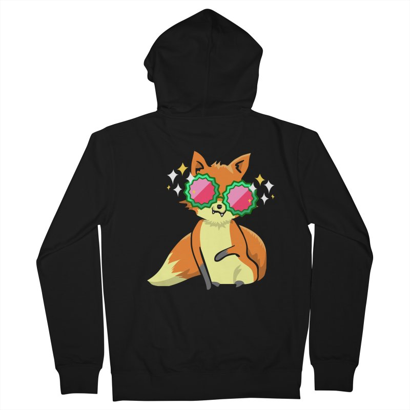 Foxy & Fabulous  Men's Zip-Up Hoody by anishacreations's Artist Shop