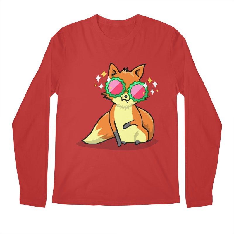 Foxy & Fabulous Men's Regular Longsleeve T-Shirt by anishacreations's Artist Shop