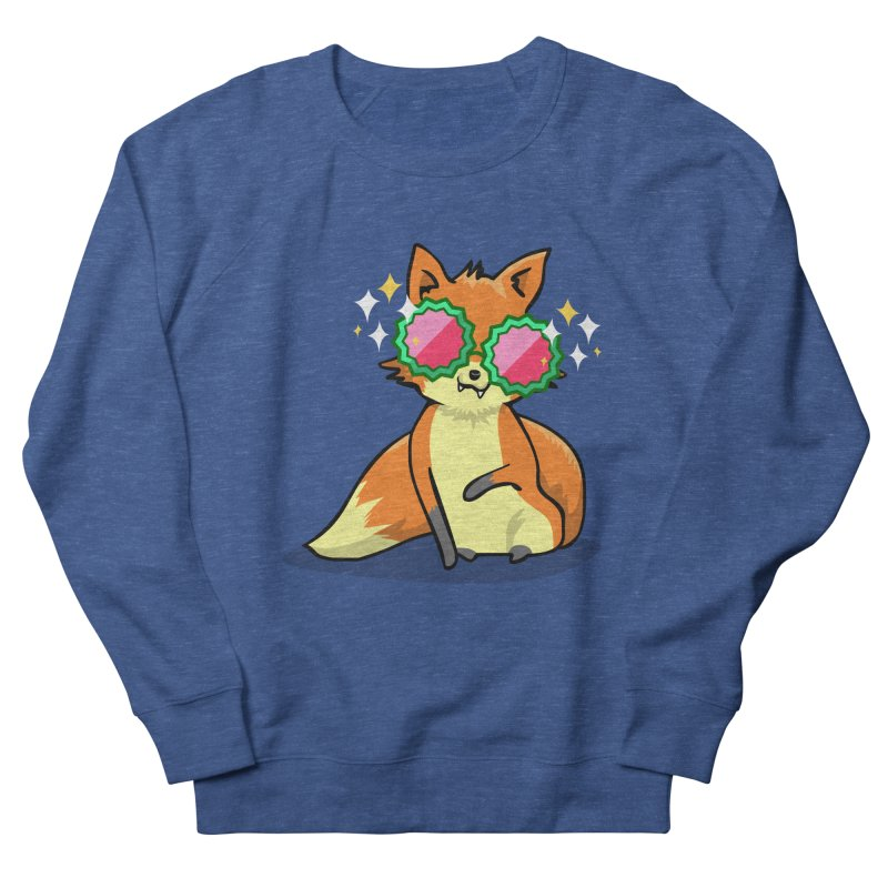 Foxy & Fabulous Women's French Terry Sweatshirt by anishacreations's Artist Shop
