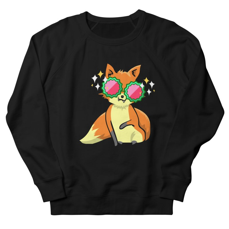 Foxy & Fabulous Men's French Terry Sweatshirt by anishacreations's Artist Shop