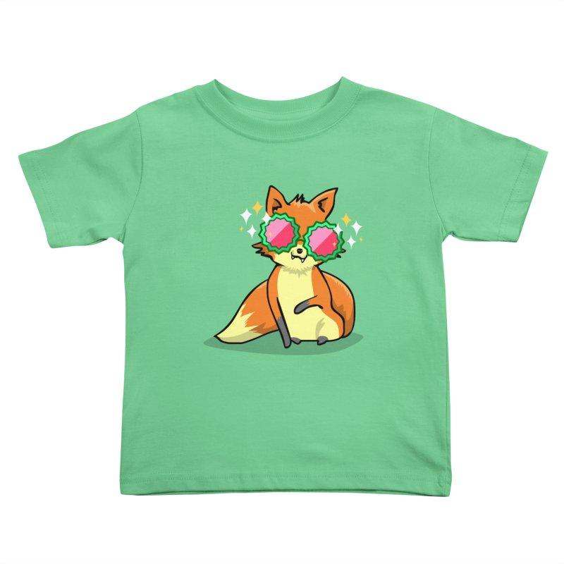 Foxy & Fabulous  Kids Toddler T-Shirt by anishacreations's Artist Shop