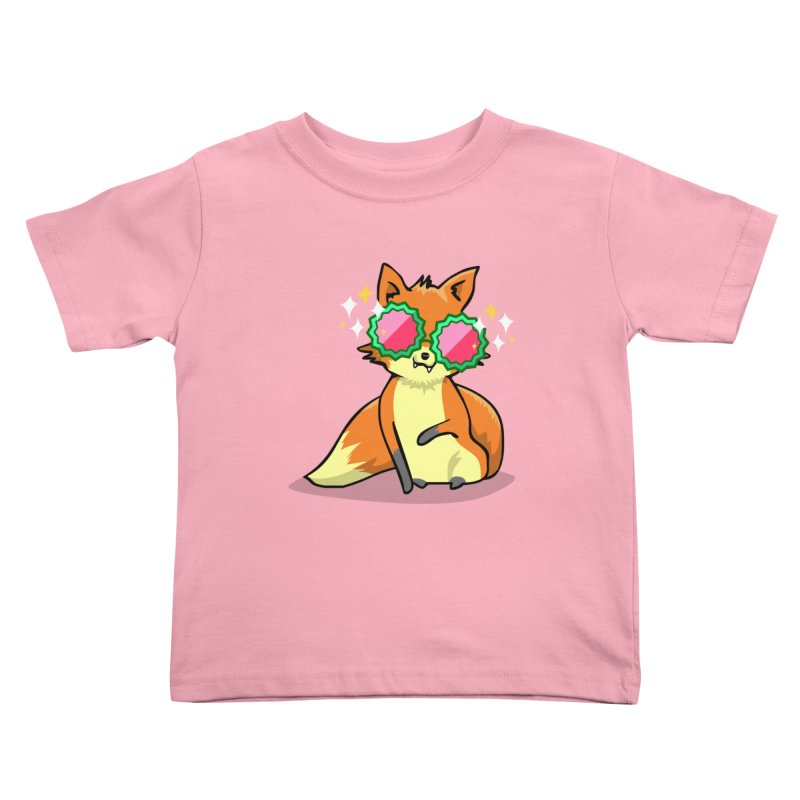 Foxy & Fabulous Kids Toddler T-Shirt by anishacreations's Artist Shop