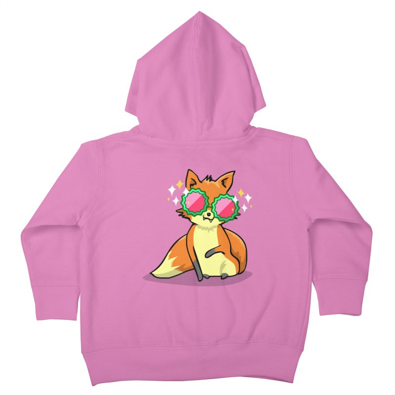 Foxy & Fabulous  Kids Toddler Zip-Up Hoody by anishacreations's Artist Shop