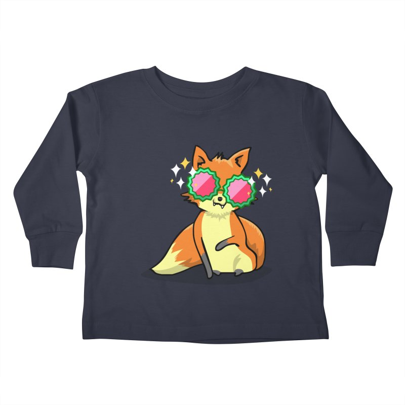 Foxy & Fabulous  Kids Toddler Longsleeve T-Shirt by anishacreations's Artist Shop