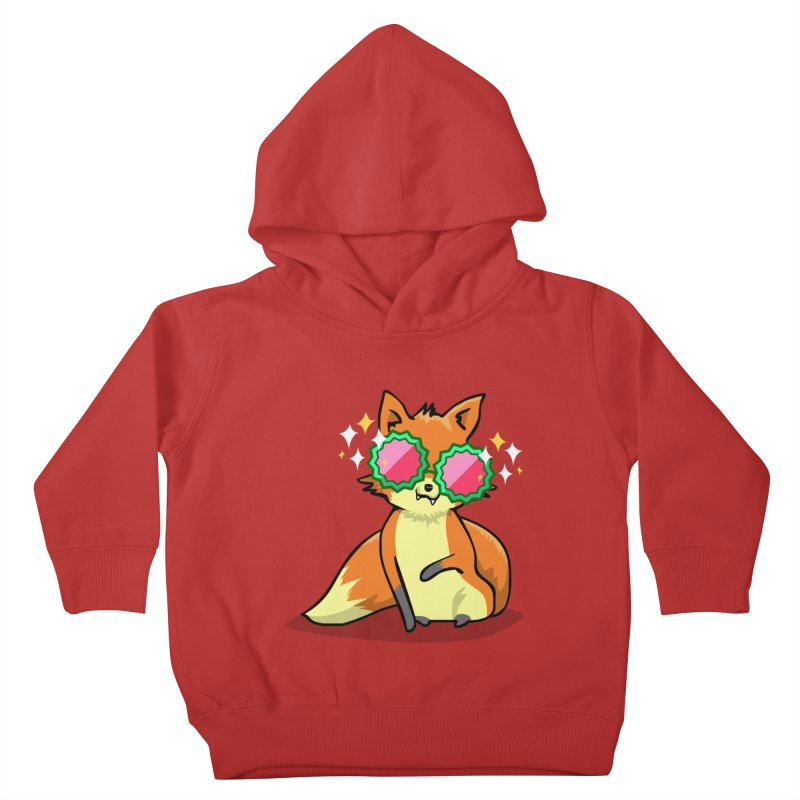 Foxy & Fabulous  Kids Toddler Pullover Hoody by anishacreations's Artist Shop