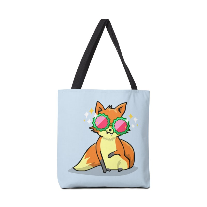 Foxy & Fabulous Accessories Tote Bag Bag by anishacreations's Artist Shop