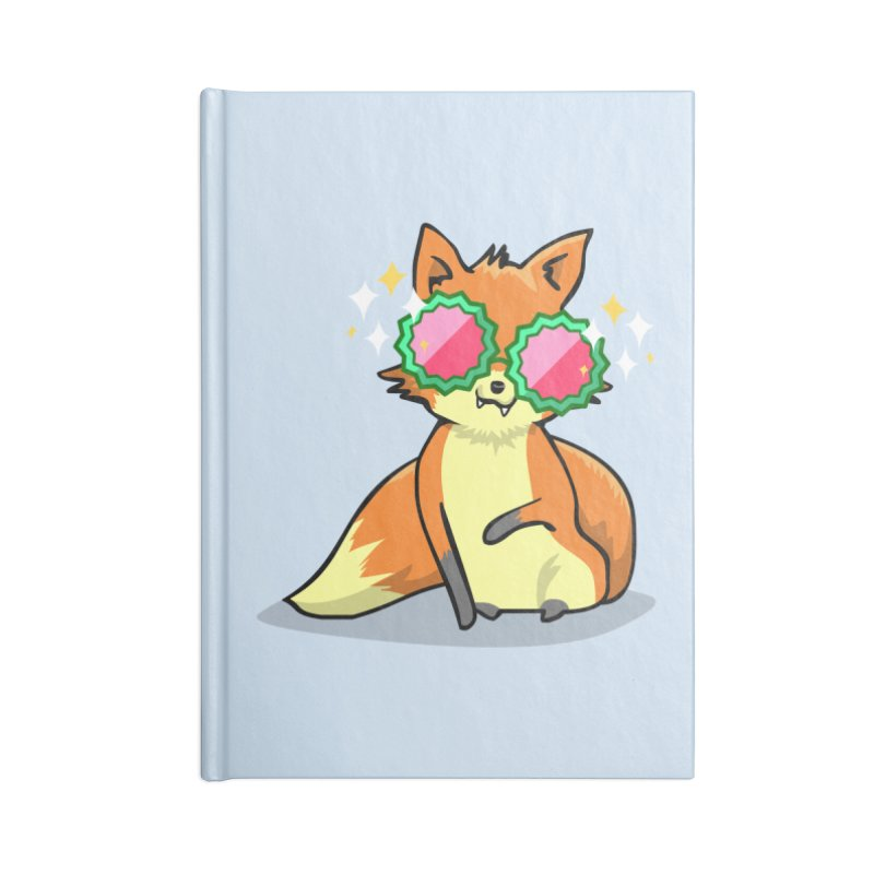 Foxy & Fabulous Accessories Notebook by anishacreations's Artist Shop