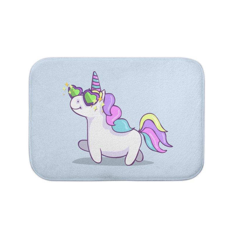 Fabulous Unicorn Home Bath Mat by anishacreations's Artist Shop