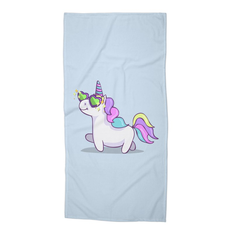 Fabulous Unicorn Accessories Beach Towel by anishacreations's Artist Shop