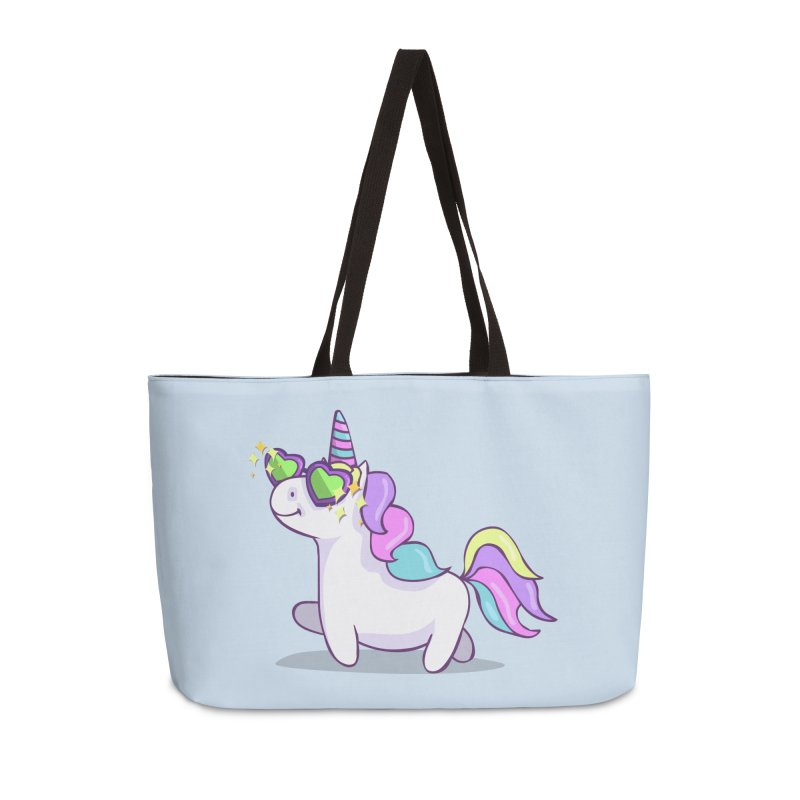 Fabulous Unicorn Accessories Weekender Bag Bag by anishacreations's Artist Shop