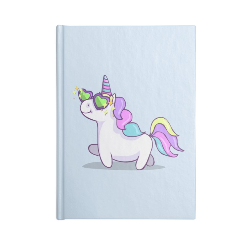 Fabulous Unicorn Accessories Lined Journal Notebook by anishacreations's Artist Shop