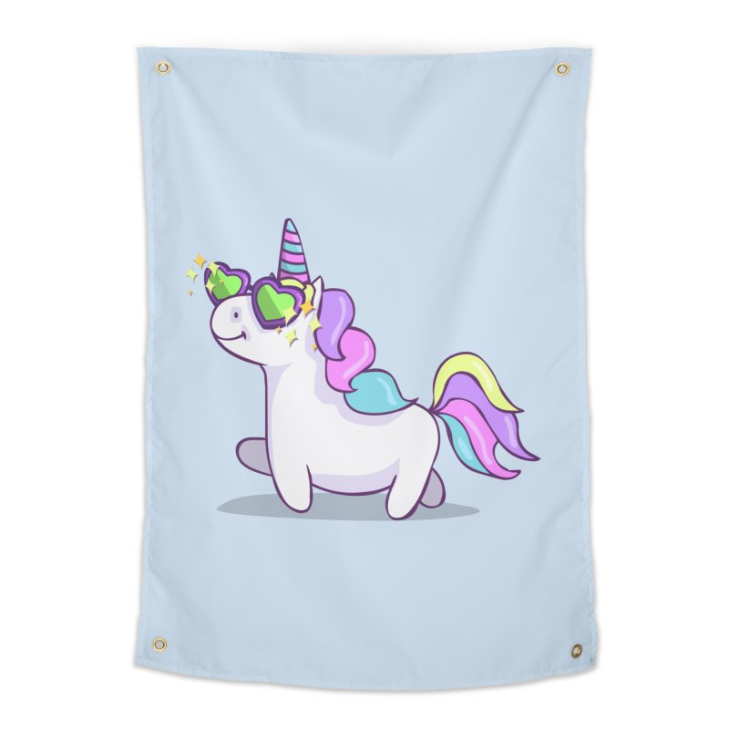 Fabulous Unicorn Home Tapestry by anishacreations's Artist Shop