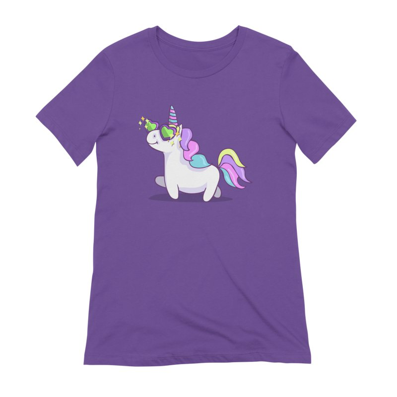 Fabulous Unicorn Women's Extra Soft T-Shirt by anishacreations's Artist Shop