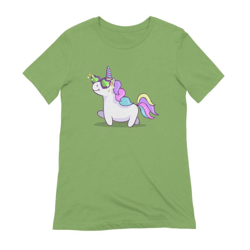 Fabulous Unicorn Women's Extra Soft T-Shirt by anishacreations's Artist Shop