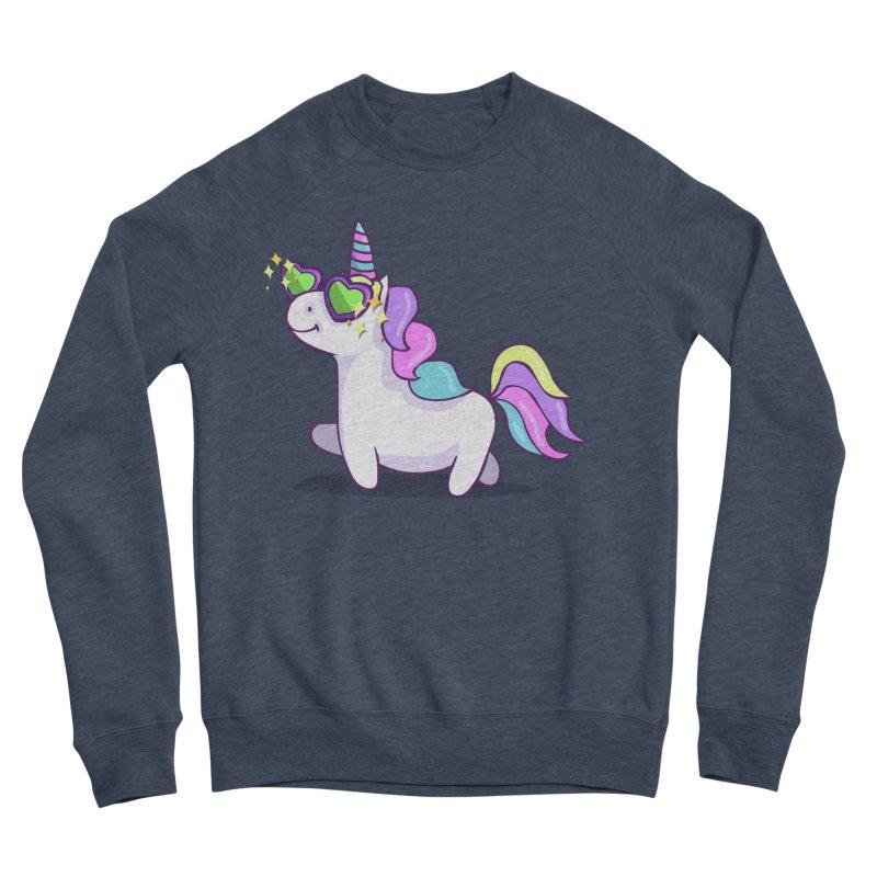 Fabulous Unicorn Men's Sponge Fleece Sweatshirt by anishacreations's Artist Shop