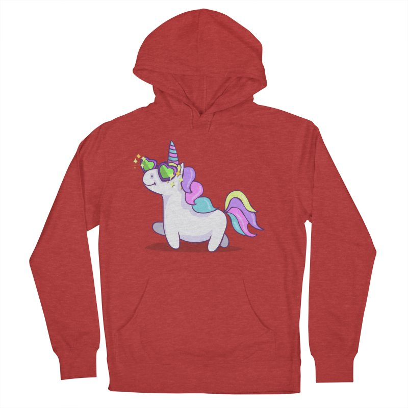 Fabulous Unicorn Men's French Terry Pullover Hoody by anishacreations's Artist Shop