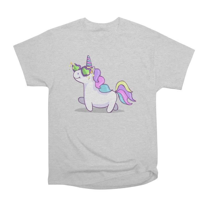 Fabulous Unicorn Men's Heavyweight T-Shirt by anishacreations's Artist Shop