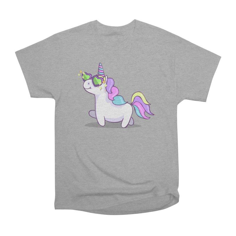 Fabulous Unicorn Women's Heavyweight Unisex T-Shirt by anishacreations's Artist Shop