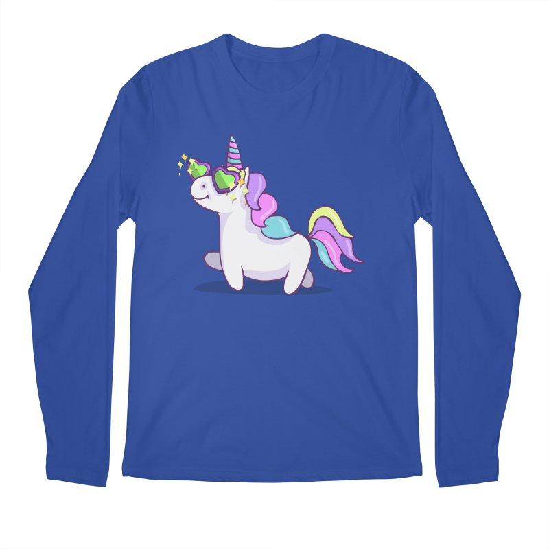 Fabulous Unicorn Men's Regular Longsleeve T-Shirt by anishacreations's Artist Shop