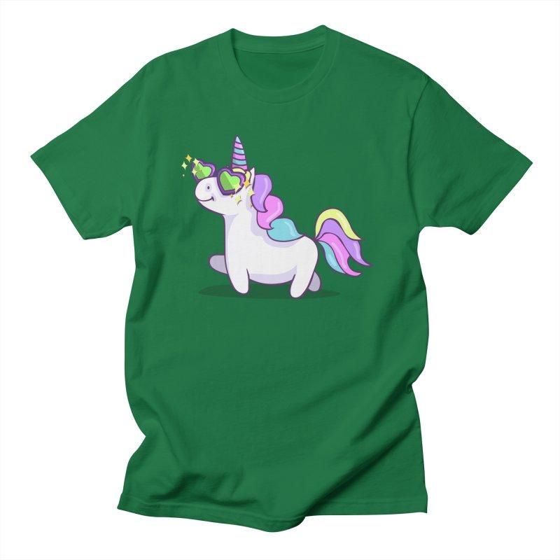 Fabulous Unicorn Men's Regular T-Shirt by anishacreations's Artist Shop