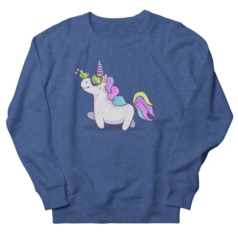 Fabulous Unicorn Men's French Terry Sweatshirt by anishacreations's Artist Shop
