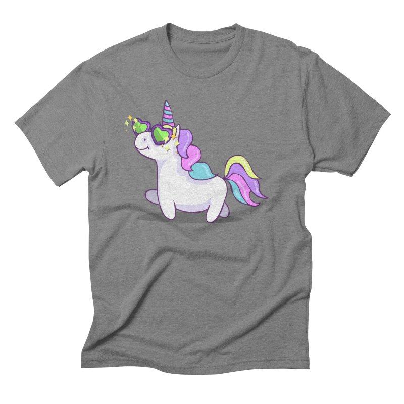 Fabulous Unicorn Men's Triblend T-Shirt by anishacreations's Artist Shop