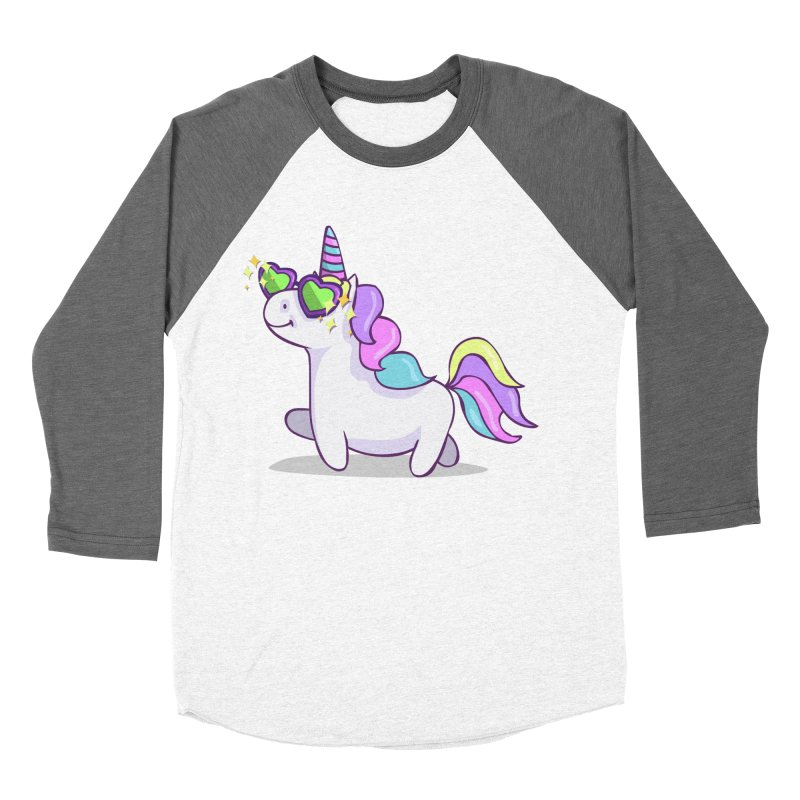 Fabulous Unicorn Women's Baseball Triblend Longsleeve T-Shirt by anishacreations's Artist Shop
