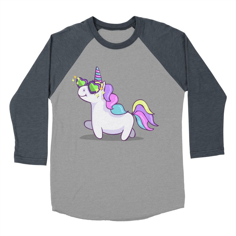 Fabulous Unicorn Women's Baseball Triblend Longsleeve T-Shirt by anishacreations's Artist Shop