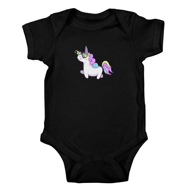 Fabulous Unicorn Kids Baby Bodysuit by anishacreations's Artist Shop