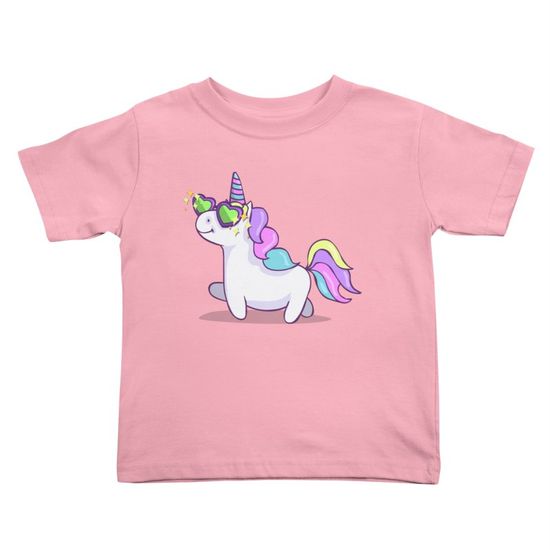 Fabulous Unicorn Kids Toddler T-Shirt by anishacreations's Artist Shop