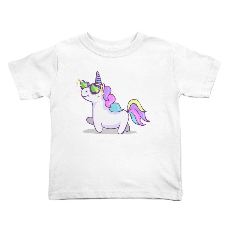 Fabulous Unicorn Kids Toddler T-Shirt by anishacreations's Artist Shop