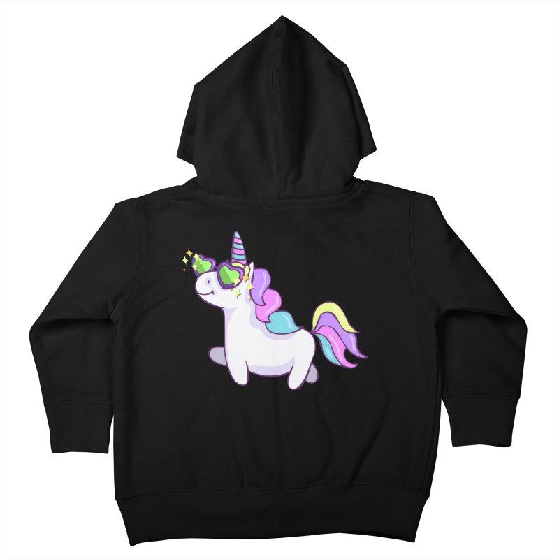 Fabulous Unicorn Kids Toddler Zip-Up Hoody by anishacreations's Artist Shop