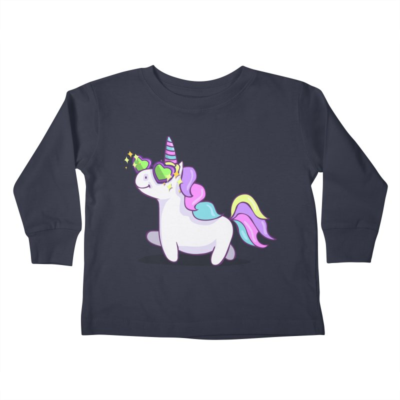 Fabulous Unicorn Kids Toddler Longsleeve T-Shirt by anishacreations's Artist Shop