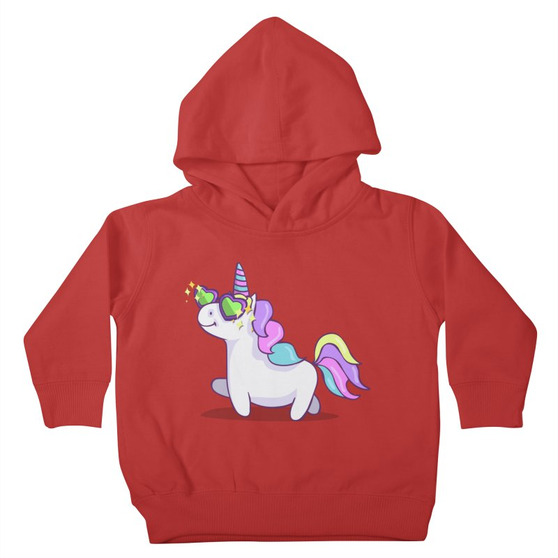Fabulous Unicorn Kids Toddler Pullover Hoody by anishacreations's Artist Shop