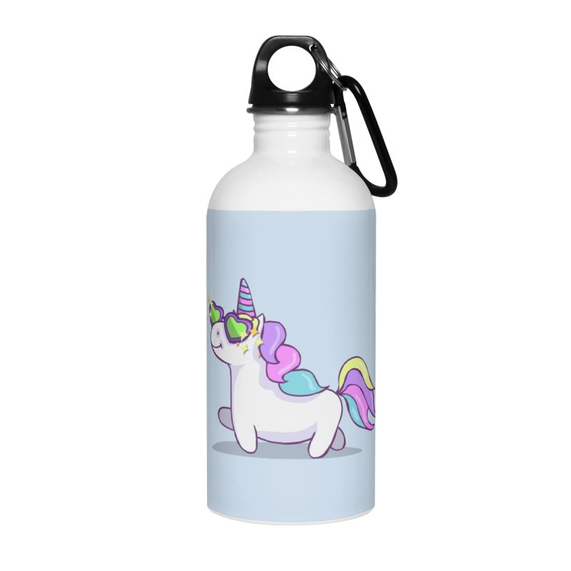 Fabulous Unicorn Accessories Water Bottle by anishacreations's Artist Shop
