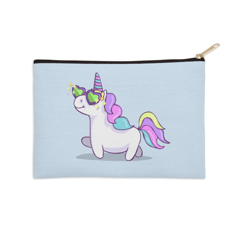 Fabulous Unicorn Accessories Zip Pouch by anishacreations's Artist Shop