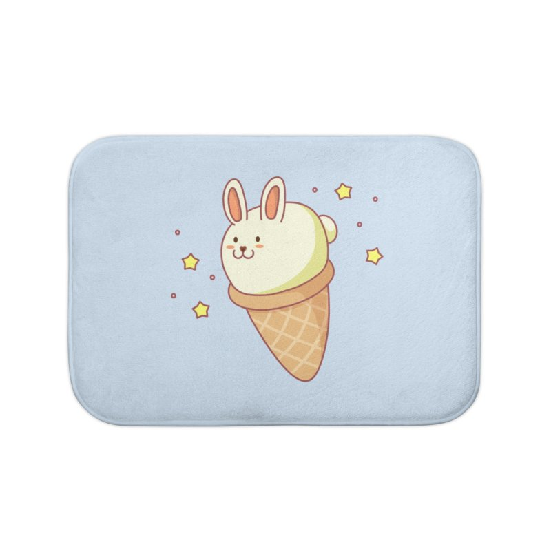 Bunny-lla Ice Cream Home Bath Mat by anishacreations's Artist Shop
