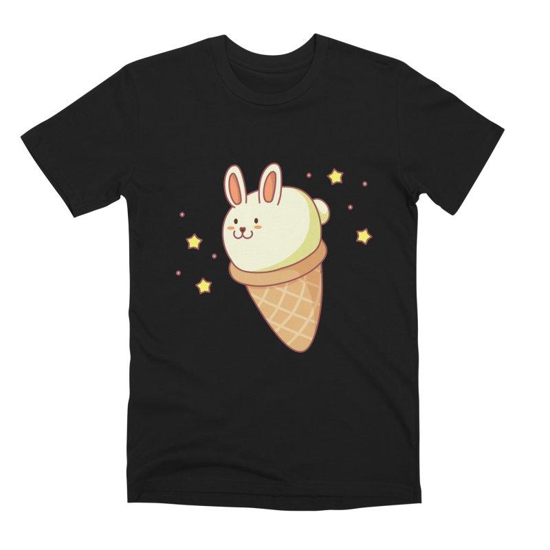 Bunny-lla Ice Cream Men's Premium T-Shirt by anishacreations's Artist Shop