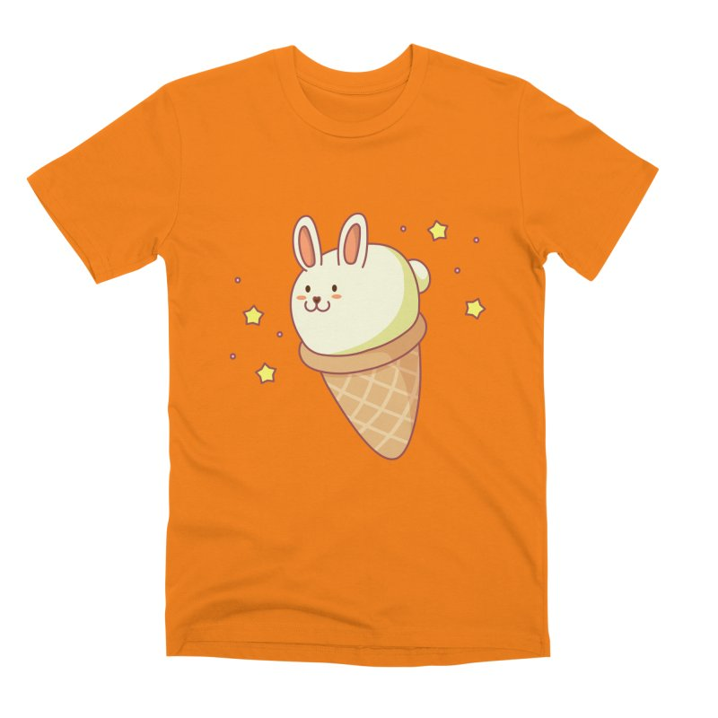 Bunny-lla Ice Cream Men's T-Shirt by anishacreations's Artist Shop