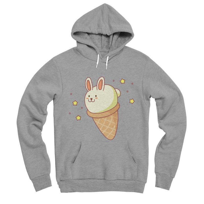 Bunny-lla Ice Cream Women's Sponge Fleece Pullover Hoody by anishacreations's Artist Shop