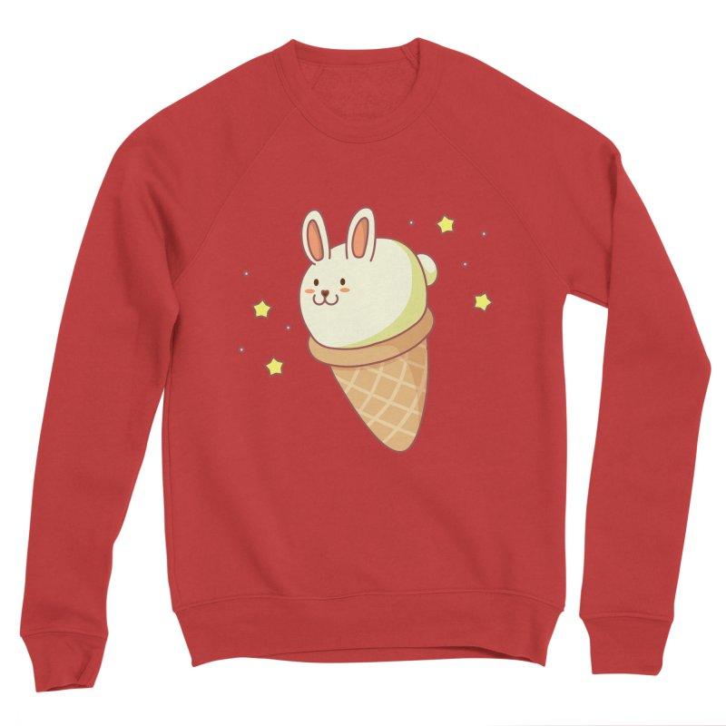 Bunny-lla Ice Cream Men's Sponge Fleece Sweatshirt by anishacreations's Artist Shop