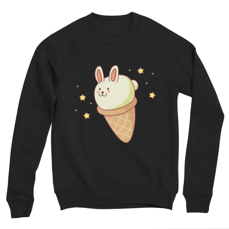 Bunny-lla Ice Cream Women's Sponge Fleece Sweatshirt by anishacreations's Artist Shop