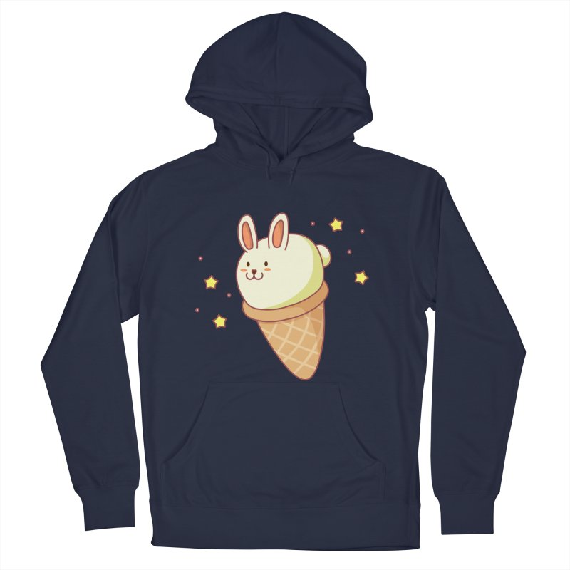Bunny-lla Ice Cream Women's French Terry Pullover Hoody by anishacreations's Artist Shop