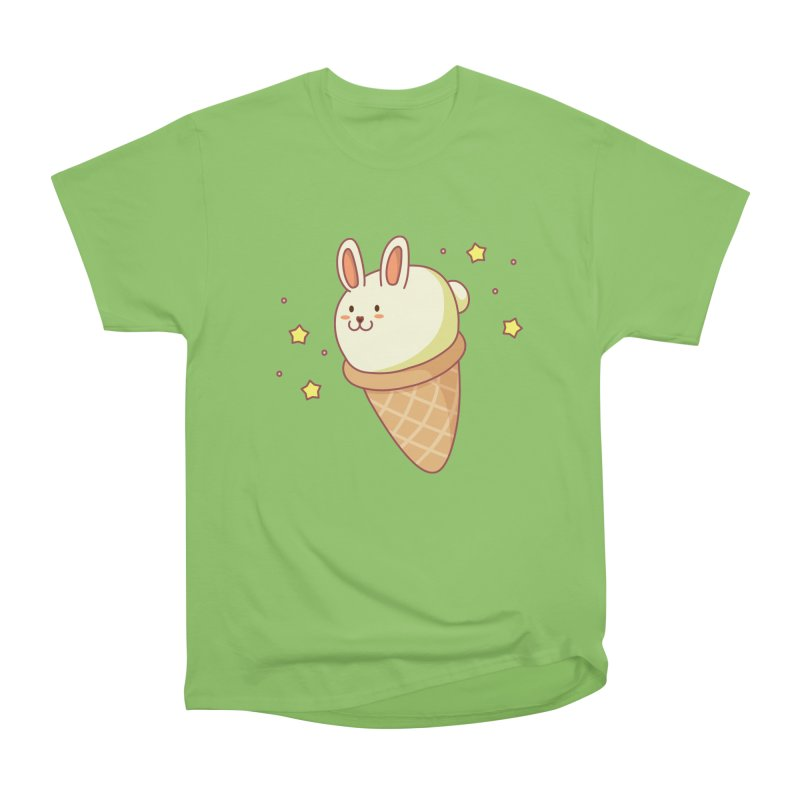 Bunny-lla Ice Cream Men's Heavyweight T-Shirt by anishacreations's Artist Shop
