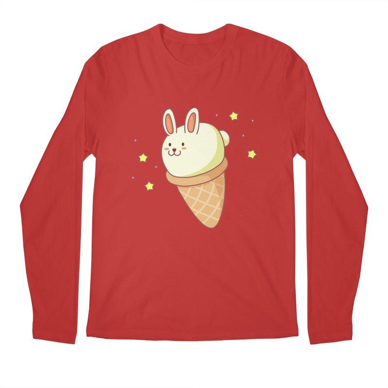 Bunny-lla Ice Cream Men's Regular Longsleeve T-Shirt by anishacreations's Artist Shop