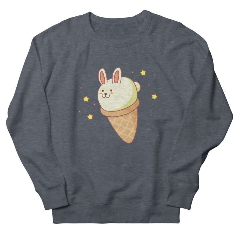 Bunny-lla Ice Cream Men's French Terry Sweatshirt by anishacreations's Artist Shop