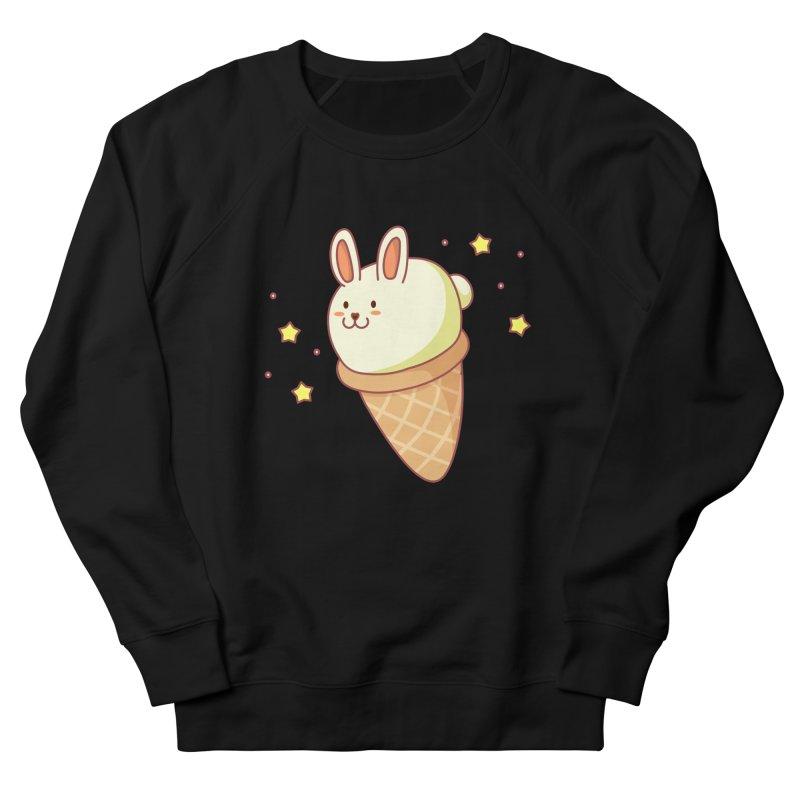 Bunny-lla Ice Cream Men's French Terry Sweatshirt by anishacreations's Artist Shop