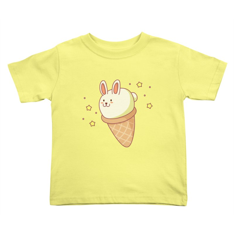 Bunny-lla Ice Cream Kids Toddler T-Shirt by anishacreations's Artist Shop