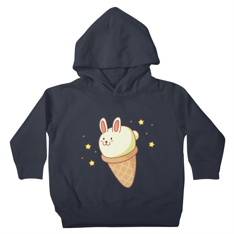 Bunny-lla Ice Cream Kids Toddler Pullover Hoody by anishacreations's Artist Shop